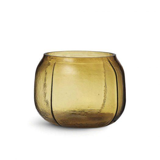 Step Glass Vase 16cm
