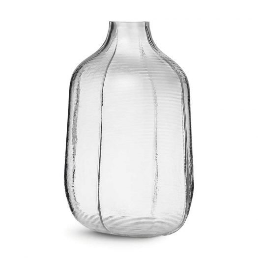 Step Glass Vase 31cm