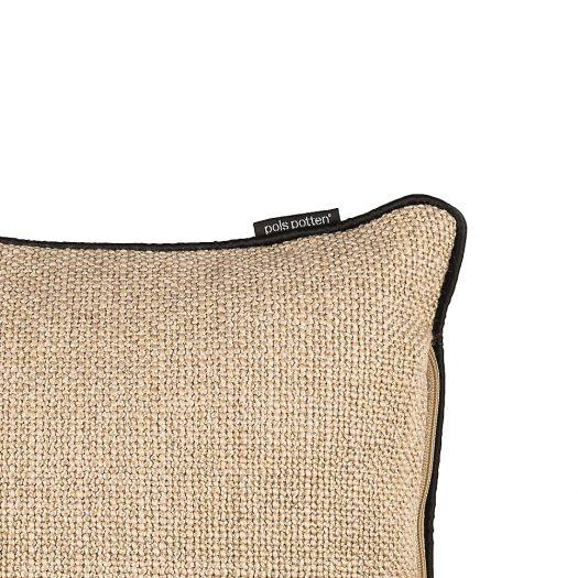 Smooth Bordered Woven Cushion 40cm x 60cm