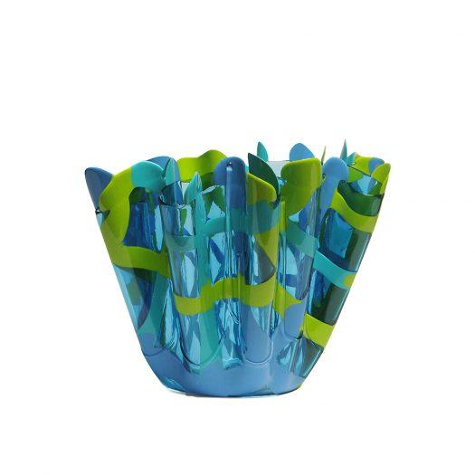 Tartan Soft-resin Vase