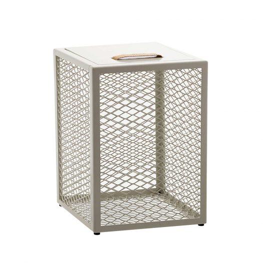 The Cube Powder-coated Metal Storage Box 46cm x 32cm