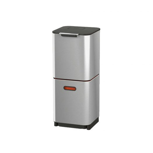 Totem Compact 40L Stainless Steel Waste & Recycling Bins