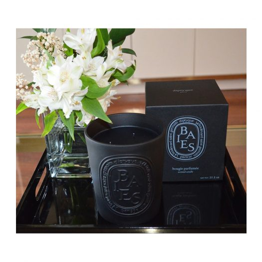 Baies Noir Scented Candle 600g