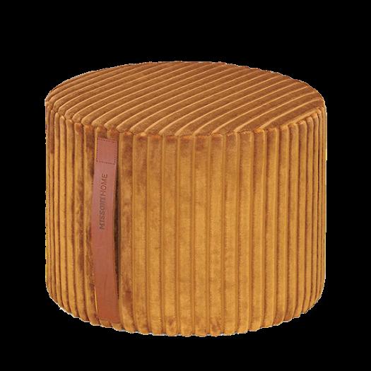 Coomba Velvet Cylindrical Pouf 30cm
