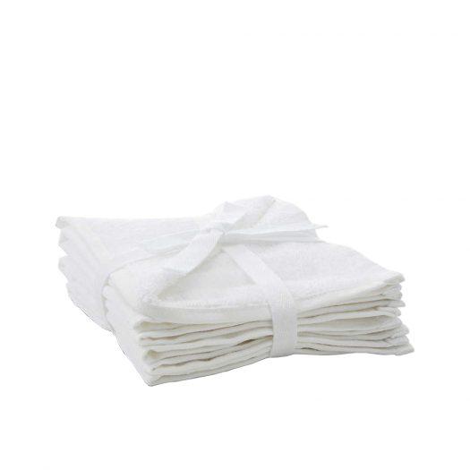 Cotton Face Cloth Set Of Three 30cm x 30cm