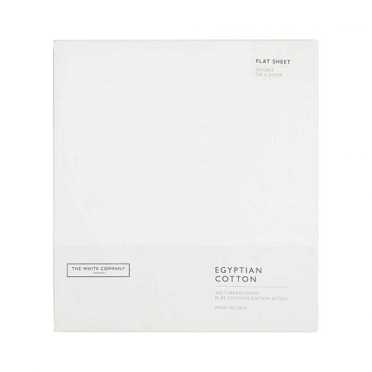 Sateen Egyptian Cotton Double Flat sheet