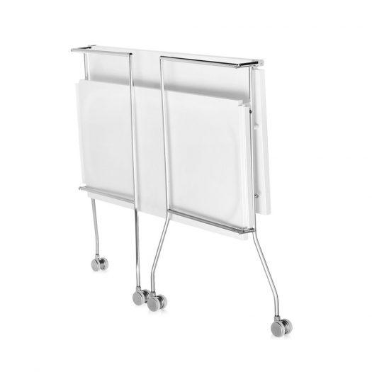 Flip Trolley – Glossy White