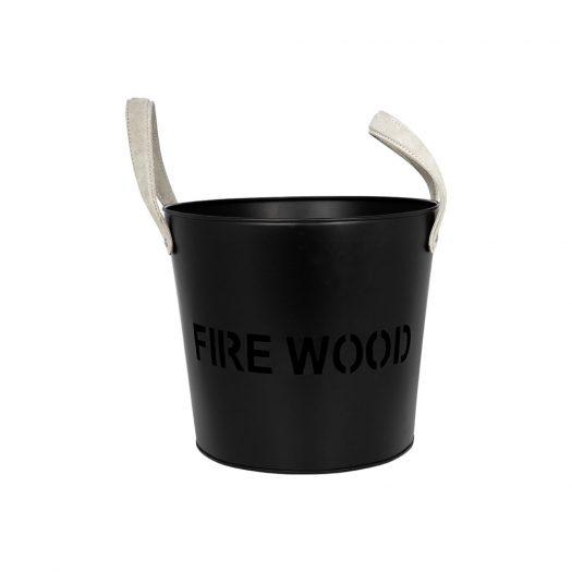 Iron 'FireWood' Log Bucket