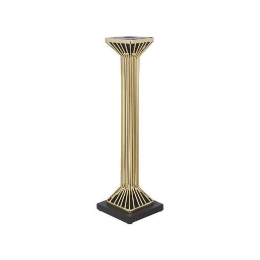 Golden Column Wire Candlestick
