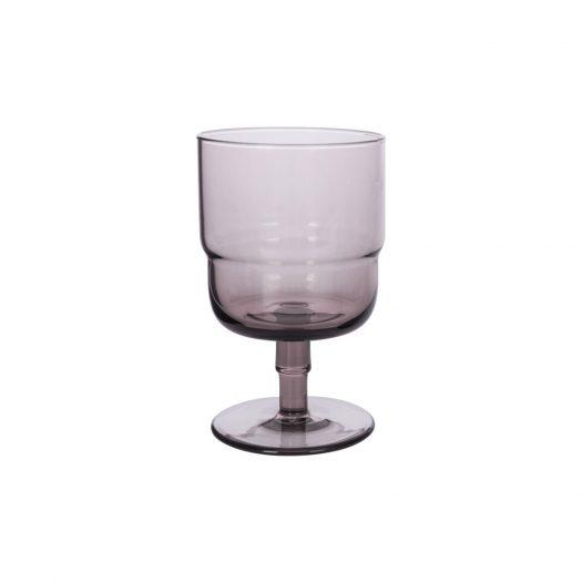 Drop Wine Glasses - Set of 6 - Amethyst