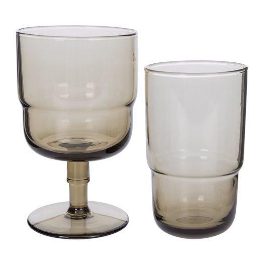 Drop Wine Glasses – Set of 6 – Amethyst