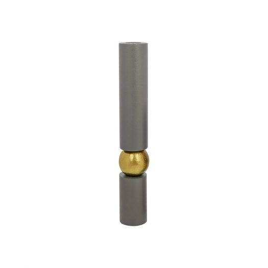 Grey Balance Candlestick - Large