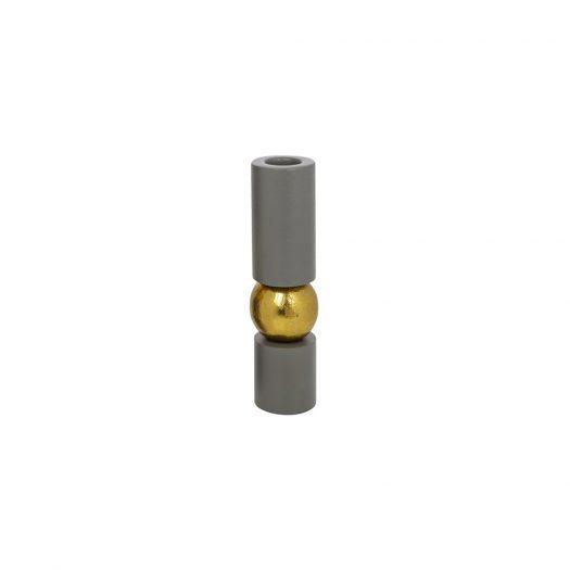 Grey Balance Candlestick - Small