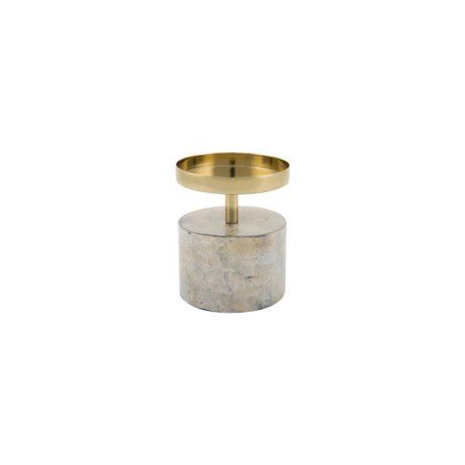 Marwood Pillar Candle Holder - Small