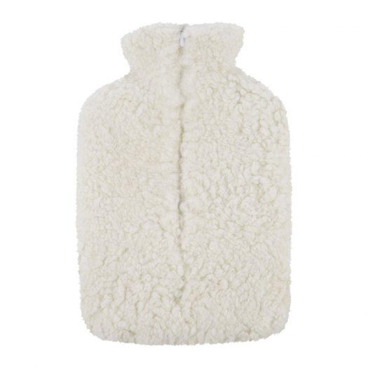 Sheepskin Hot Water Bottle – Ivory