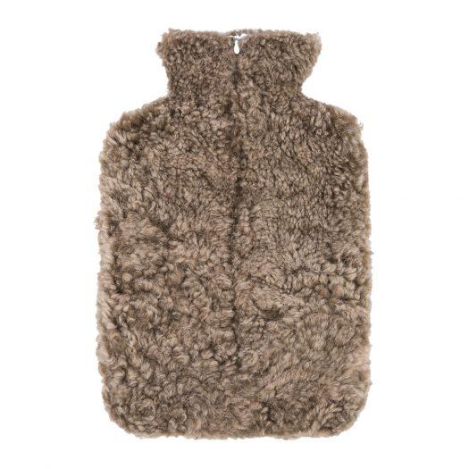 Sheepskin Hot Water Bottle – Taupe