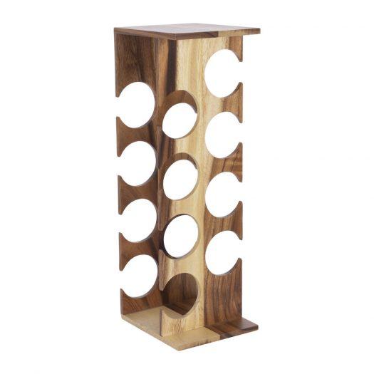 Tower Wooden Wine Rack