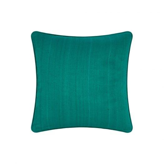 Silk Cushion - Jade - 45x45cm