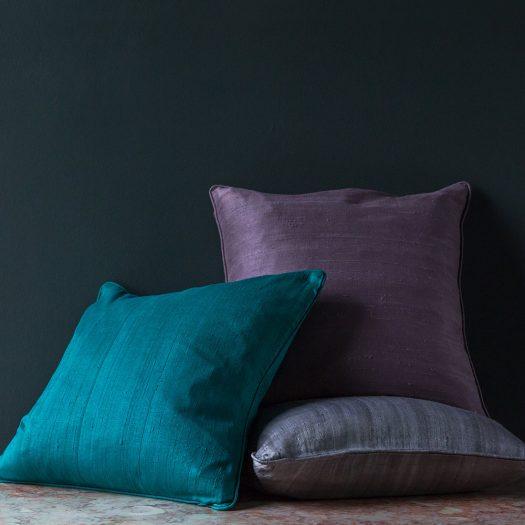 Silk Cushion – Jade – 45x45cm