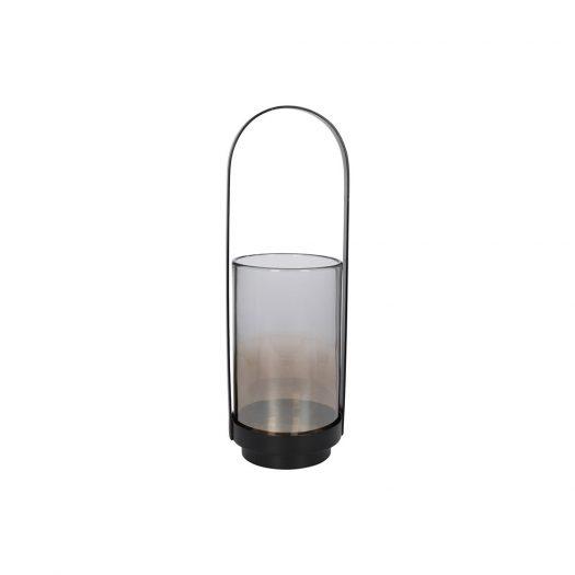 Metal & Glass Lantern - Large