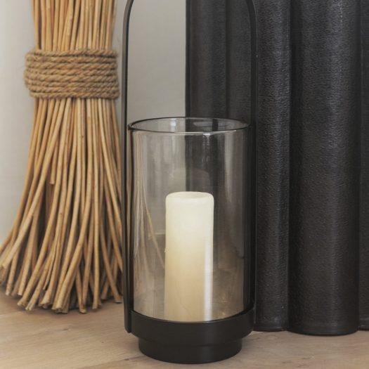 Metal & Glass Lantern – Large