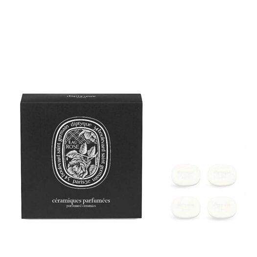 Eau Rose Perfumed Brooch Ceramic Refill Pack of Four