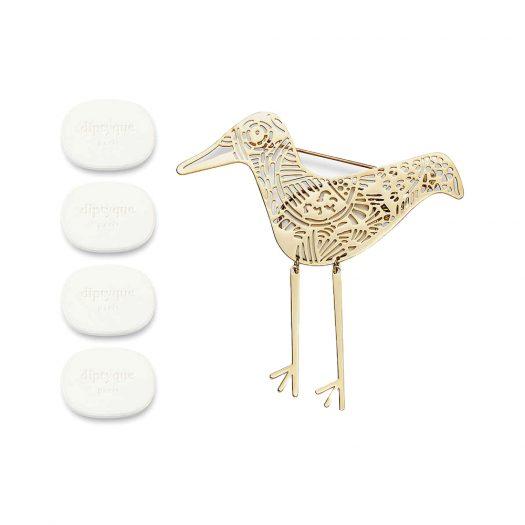 Eau Capitale Perfumed Brooch Ceramic Refill Pack of Four