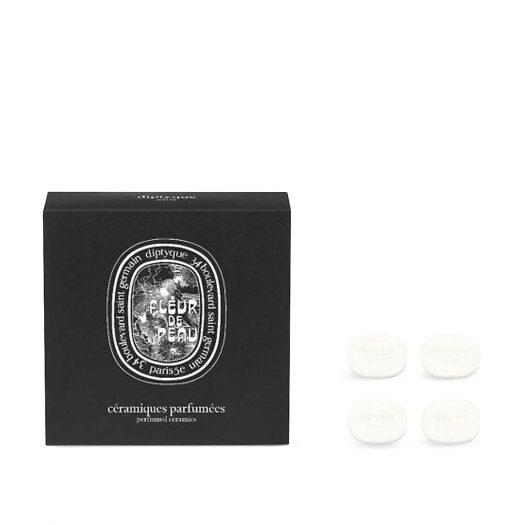 Fleur de Peau Perfumed Brooch Ceramic Refill Pack of Four