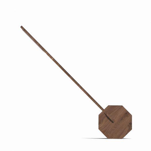 Octagon One Desk Lamp Walnut