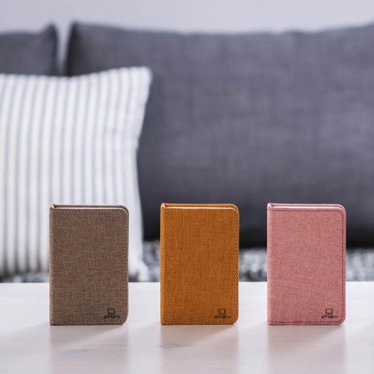 LED Smart Fabric Booklight- Mini Coffee Brown