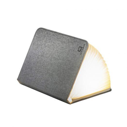 LED Smart Fabric Booklight- Urban Grey