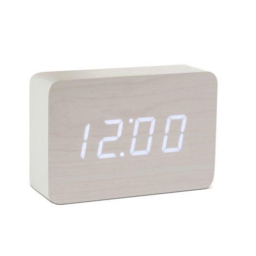 Brick Beech Click Clock