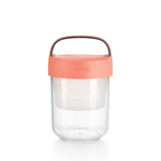 Jar To-Go, 400 ml Coral