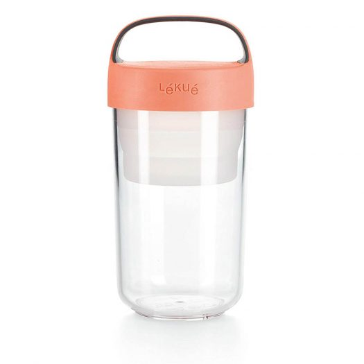 Jar To-Go, 600 ml Coral