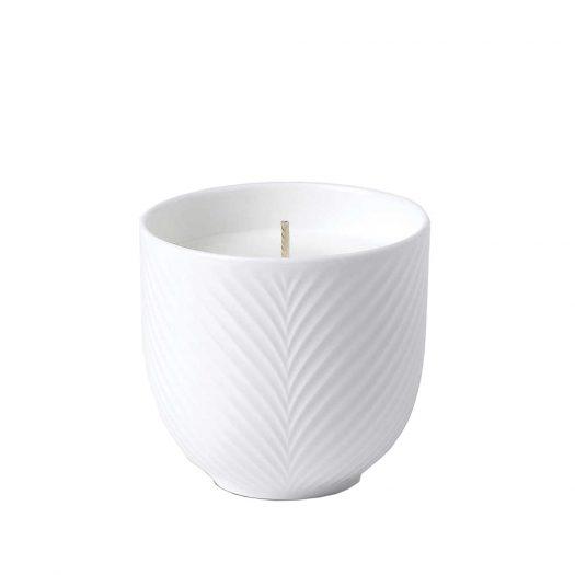 White Folia Candle 870g