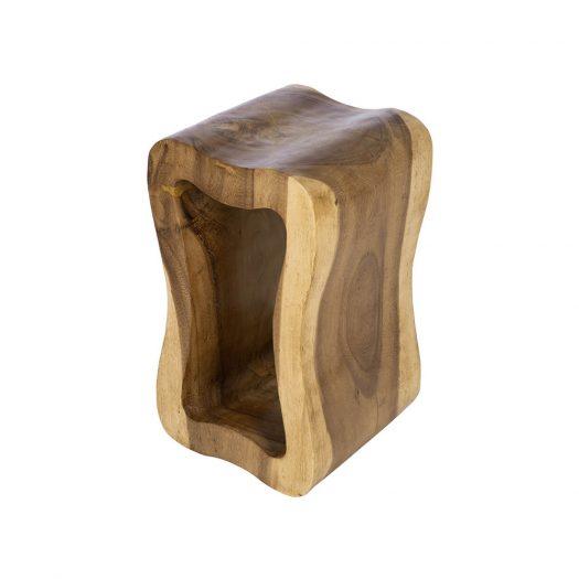 Hollow Wooden Stool