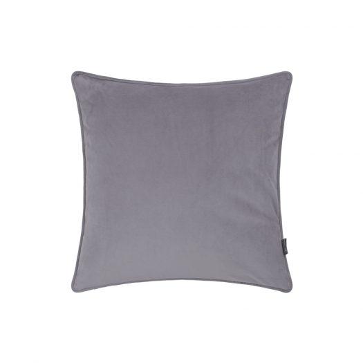Velvet Cushion - Grey - 45x45cm