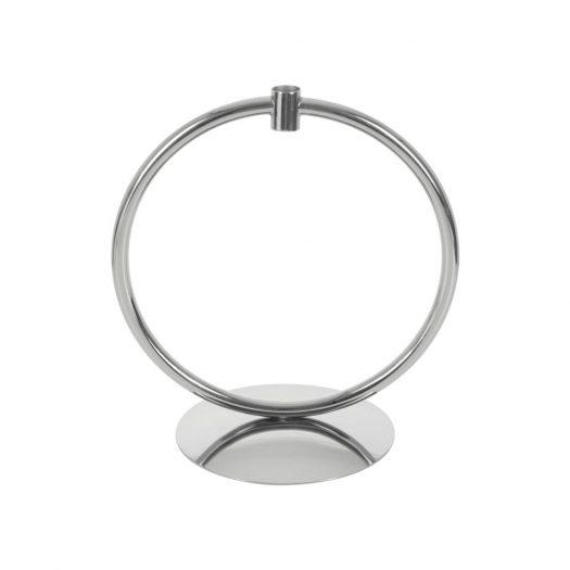 Hoop Candlestick - Silver