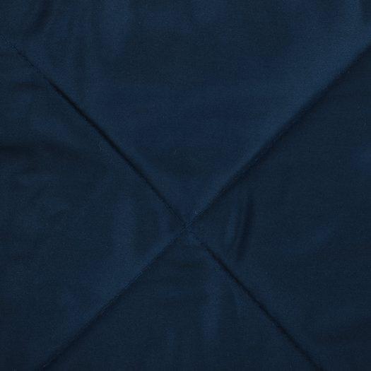 Square Velvet Bedspread – Royal Blue – 240x200cm