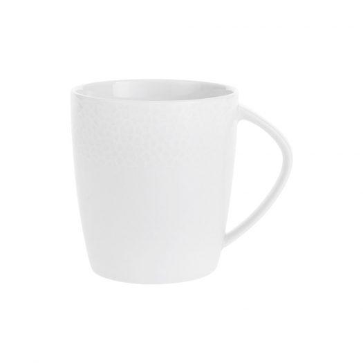 Port Cros White Porcelain Mug