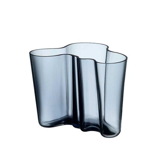 Aalto Glass Vase Rain 16cm