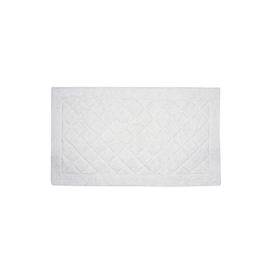 Cosmopolitan Collection Bath Mat White 70x120cm