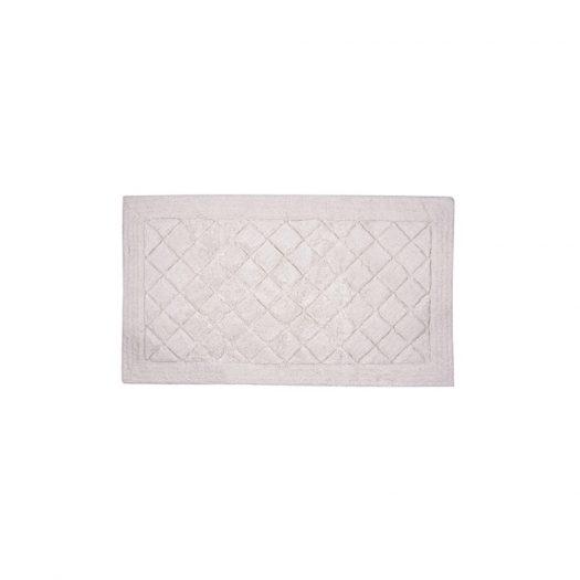 Cosmopolitan Collection Bath Mat Ivory 55x85cm