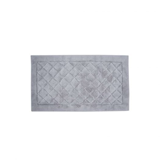 Cosmopolitan Collection Bath Mat Grey 55x85cm