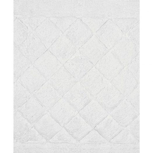 Cosmopolitan Collection Bath Mat White 55x85cm
