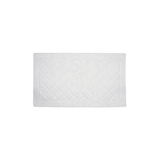 Cosmopolitan Collection Bath Mat White 45x60cm