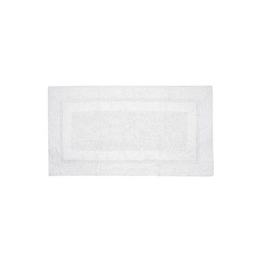 Deluxe Collection Bath Mat White 70x120cm