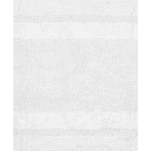 Deluxe Collection Bath Mat White 55x85cm