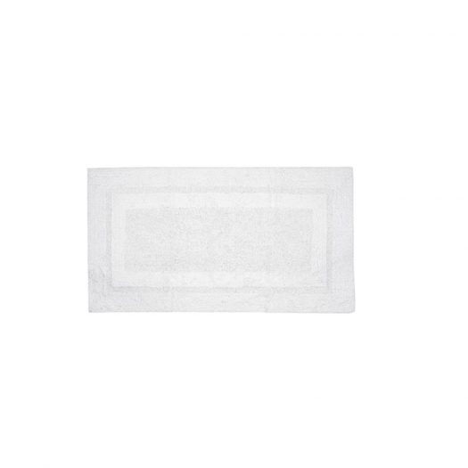 Deluxe Collection Bath Mat White 45x60cm