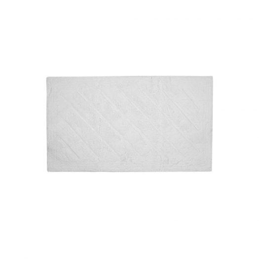 Daze Collection Bath Mat White 70x120cm